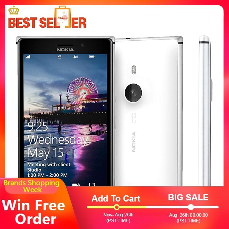 "Originale Per Nokia Lumia 925 L925 4G LTE Mobile Phone Finestre Phone 4.5 ""1 GB di RAM 16GB di ROM macchina fotografica 8.7MP Wifi GPS Smartphone Lumia 925-in Telefoni cellulari e smartphone da Cellulari e telecomunicazioni su  Gruppo 1"
