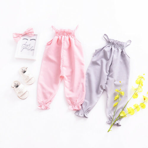 Toddler Baby Girl Strap Clothes Baby & Kids