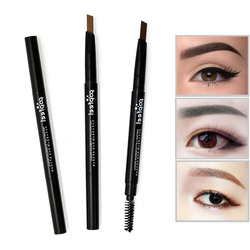 Новый бренд, многофункциональные водонепроницаемые карандаши для макияжа бровей, стойкие пигменты, черный, коричневый цвет, ручка для бров...