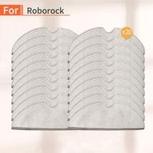 20 pièces maison aspirateur chiffon de nettoyage accessoires pour xiaomi mijia mi 1S 2S roborock s50 s55 s51 Robot aspirateur pièces de rechange