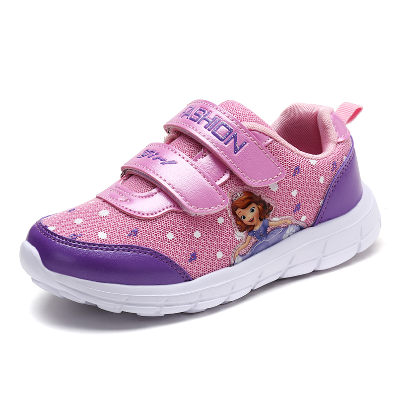 Kids Girls Shoes Size 26~37 Breathable And Light Sneakers Sophie Tenis Infantil,spring Casual Running Sneakers Children's Shoes