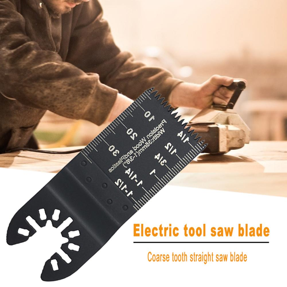 Multimaster Saw Blade Woodworking Tools Plastic Trimmer Soft Metal Cutting Grinding Carving Hole Fast-Installed Power Tool