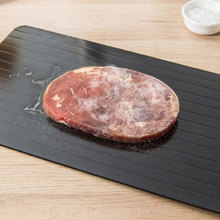 Kitchen Gadget Tool Fast Defrost Tray Fast Thaw Frozen Meat Fish Sea Food Quick Defrosting Plate Board Tray No Chemicals fast defrosting tray thaw frozen food meat fruit quick defrosting plate board defrost kitchen gadget tool