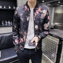 Vintage Bomber Baseball Men 2020 Spring Fashion Night Prom Stage Dress Jacket Coat Clothes Casual Jackets Hombre(China)