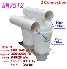 Nowy cyklon SN75T (druga generacja turbodoładowany Cyclone) 2 sztuk odpylacz filtr turbodoładowany cyklon odkurzacz samochodowy