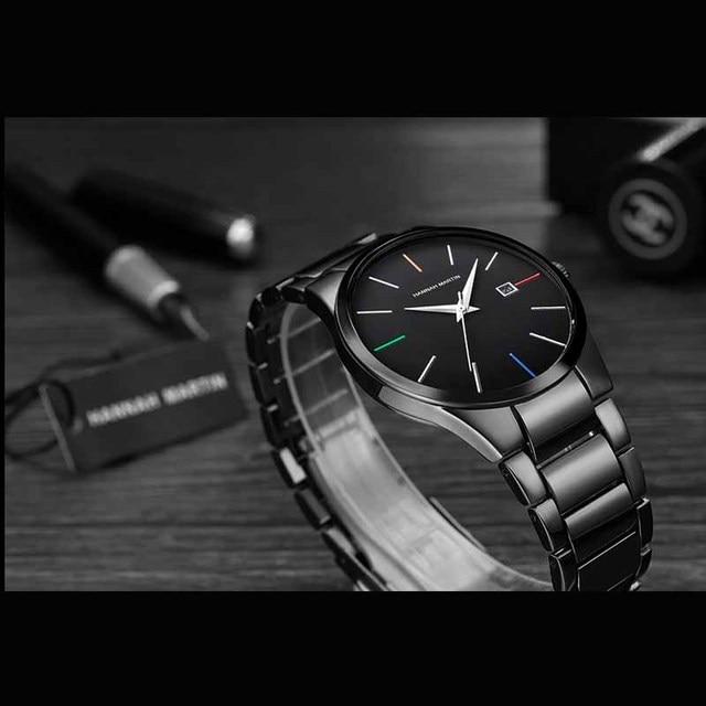 Фото мужские часы hannah martin топ бренд роскошные деловые для мальчиков