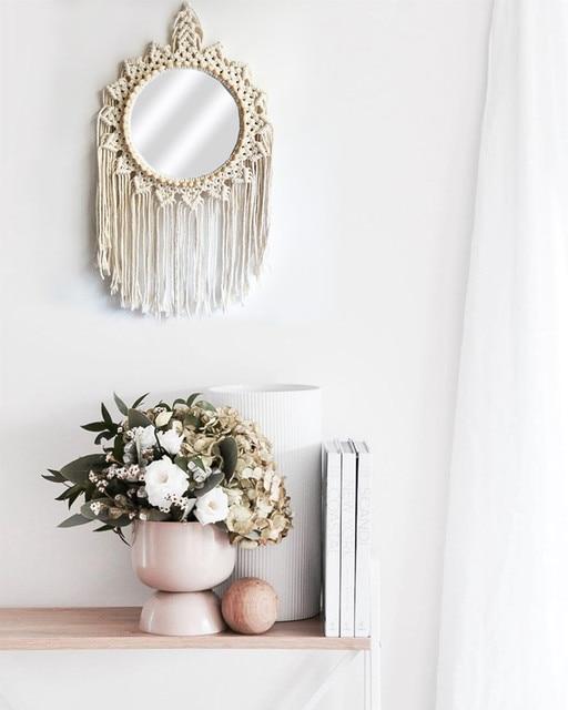 Hand-Made Wall Hanging Mirror