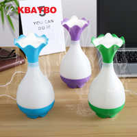 KBAYBO USB diffusers Mini Air Humidifier Ultrasonic mist make Aromatherapy Essential Oil Aroma Diffuser LED Night Light for Home