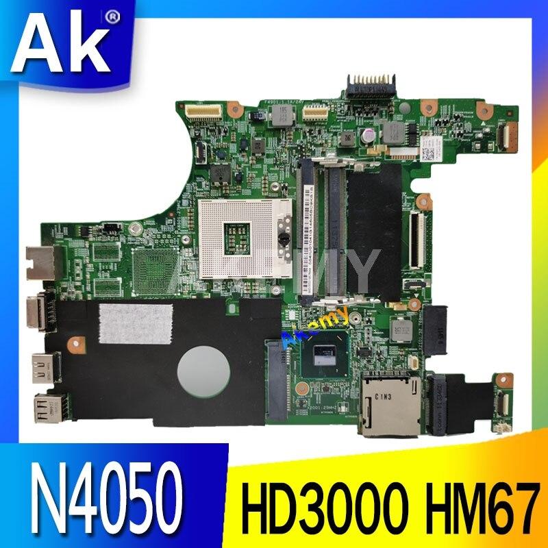 X0DC1 0X0DC1 основная плата для For DELL INSPIRON 14R N4050 материнская плата для ноутбука HD 3000 HM67 s989 работает