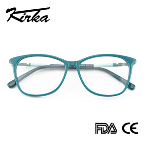 Image 2 - Kirka óculos frame feminino vintage senhora óculos quadro lente clara óculos de leitura óculos ópticos armação de prescrição feminino