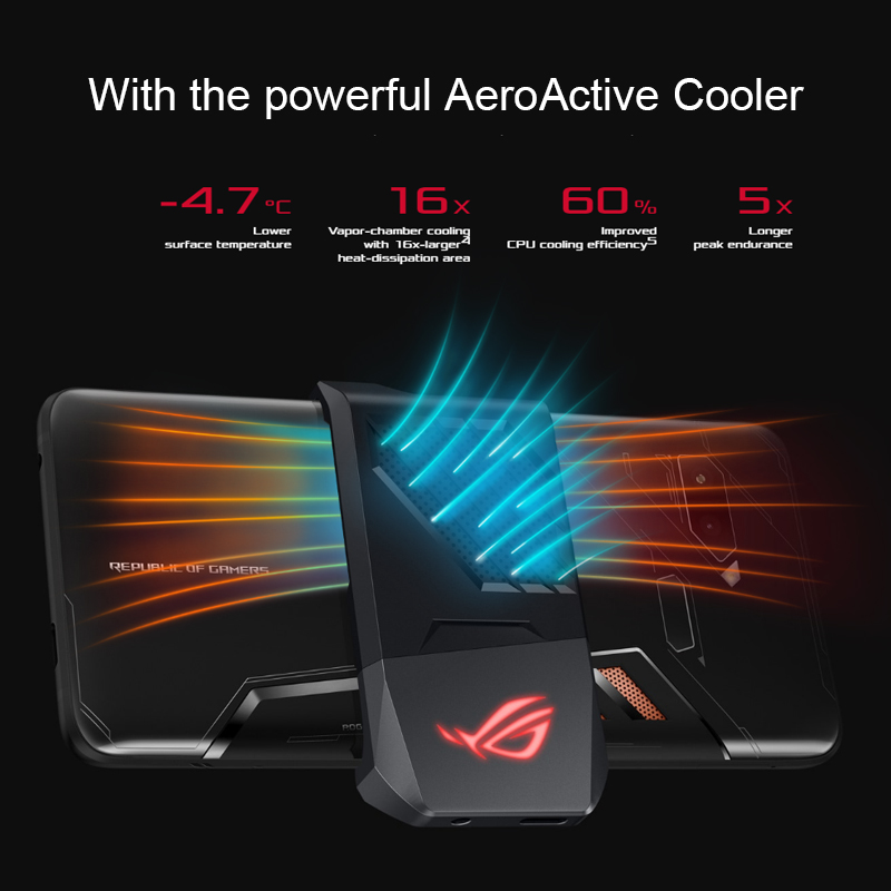 Asus ROG Phone ZS600KL Smartphone 6.0 inch Gaming Phone Android 8.1 8GB 128GB Snapdragon 845 Octa Core 4000mAh  Smartphone 2