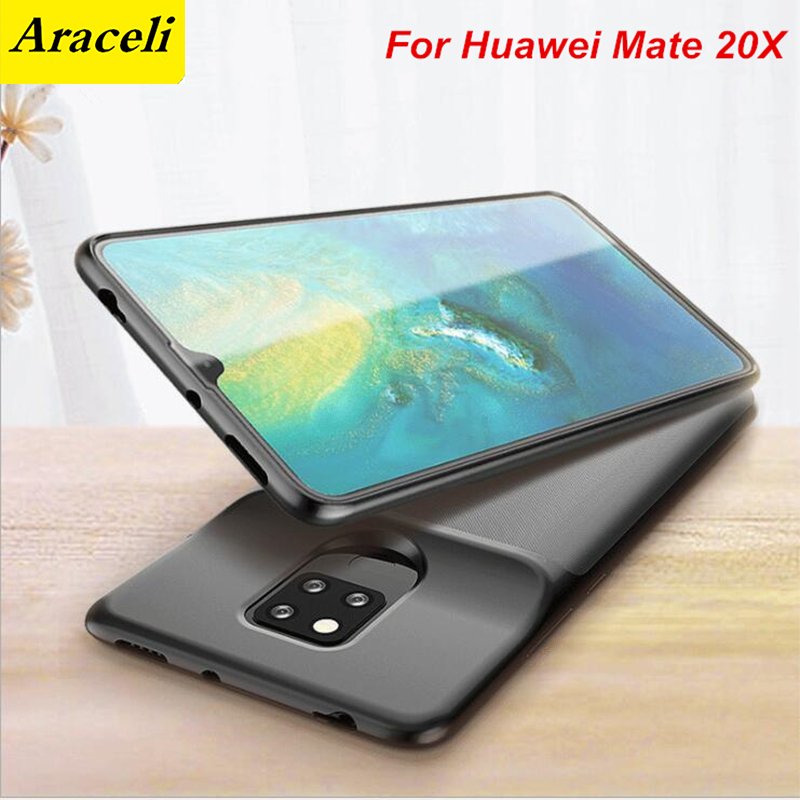 6000 Mah For Huawei Mate 20X Battery Charger Case Smart Phone Cover Power Bank For Huawei Mate 20X Battery Case