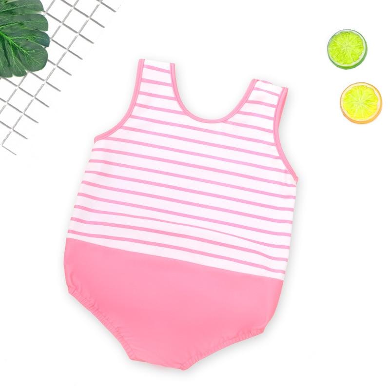 Baby Swimsuit Children Girls One-piece Baby GIRL'S Princess Swimwear 2019 New Style Cute Small Children Tour Bathing Suit