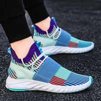 Новое поступление; Повседневные носки; Сетчатые кроссовки; Лоферы на плоской подошве; Модные дышащие мужские кроссовки; Слипоны; Zapatos De Hombre