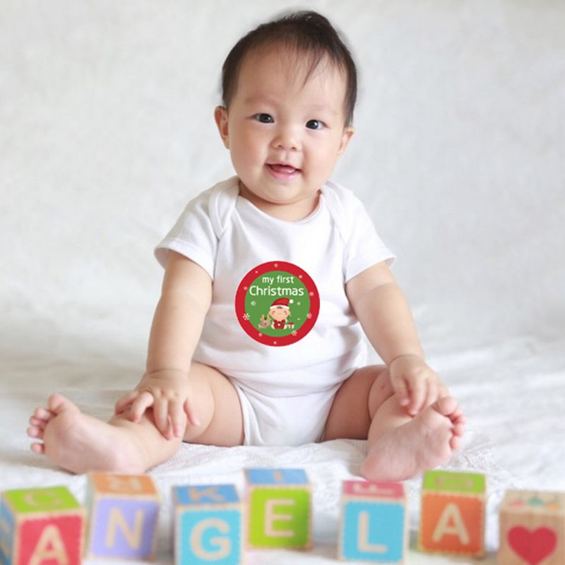 18 Pcs/set Baby Sticker Boys Girls Cute Photography Props Record Baby Skills Festival Holiday Stickers