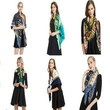 High Quality Spring Winter Silk Scarf for Women Female Luxury Brand 100% Korean Version Ladies Shawl Femme Hijab Scarves