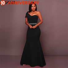 OLLYMURS Free Shipping Evening Big Size Plump Figure Solid Color Chiffon Simple Strapless V-neck Dress Hip-backed Female