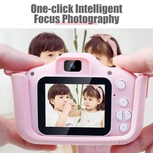 Image 3 - ילדים מיני דיגיטלי מצלמות 1080P ילדי וידאו מצלמה מתנות צעצועי ילד תינוק 2.0 אינץ HD קינדר תמונה צילום מצלמת וידאו