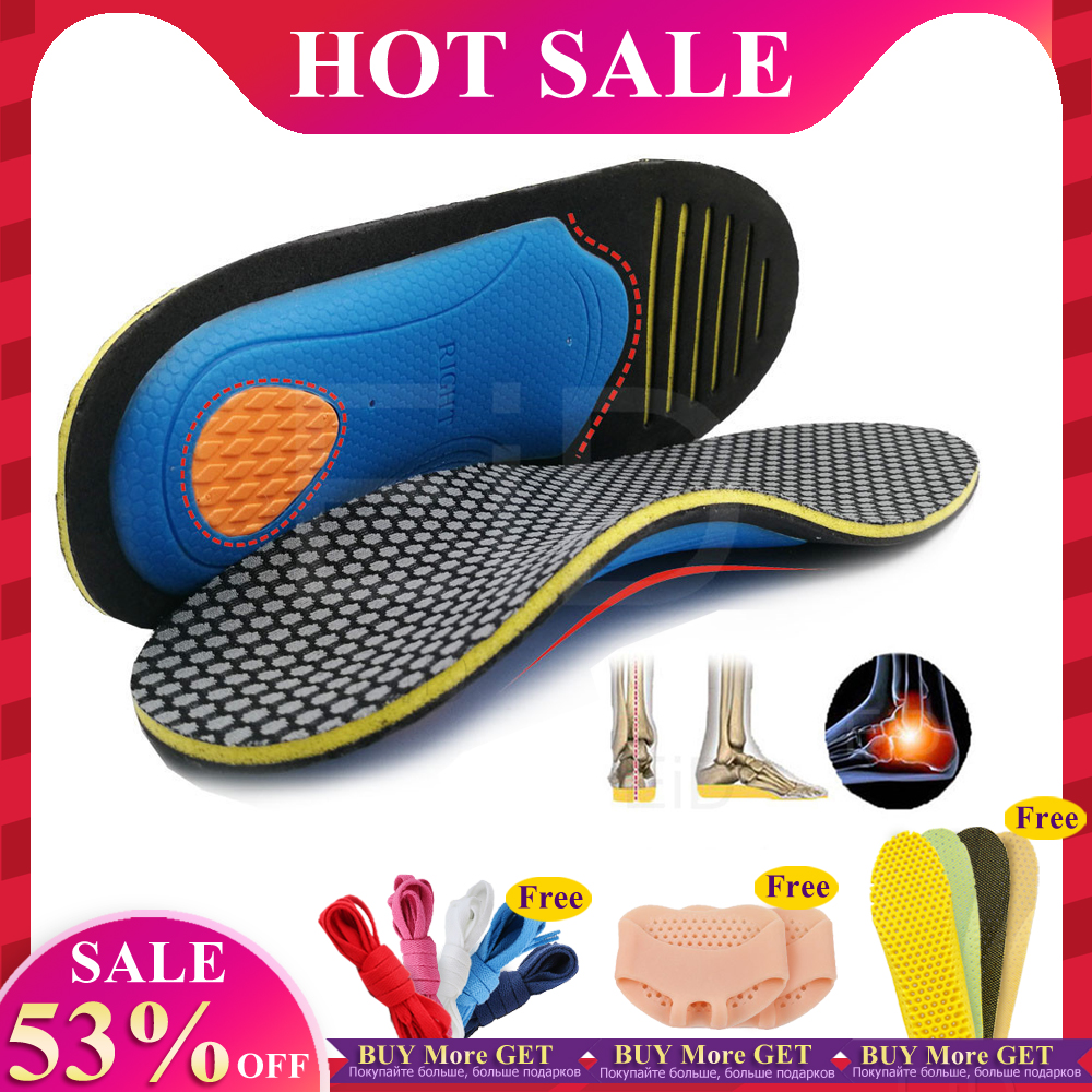 EiD Orthopedic Insoles Orthotics Flat Foot Health Sole Pad For Shoes Insert Arch Support Pad For Plantar Fasciitis Feet Care