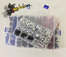 цена на free shipping Fairing bolts full screw kits For HONDA CBR1000RR 04-05        04 05 2004 2005 Nuts bolt screws kit