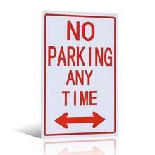 Без знака парковки со стрелками, устойчивы к погоде/выцветанию, легко монтируются, для использования в помещении/на улице