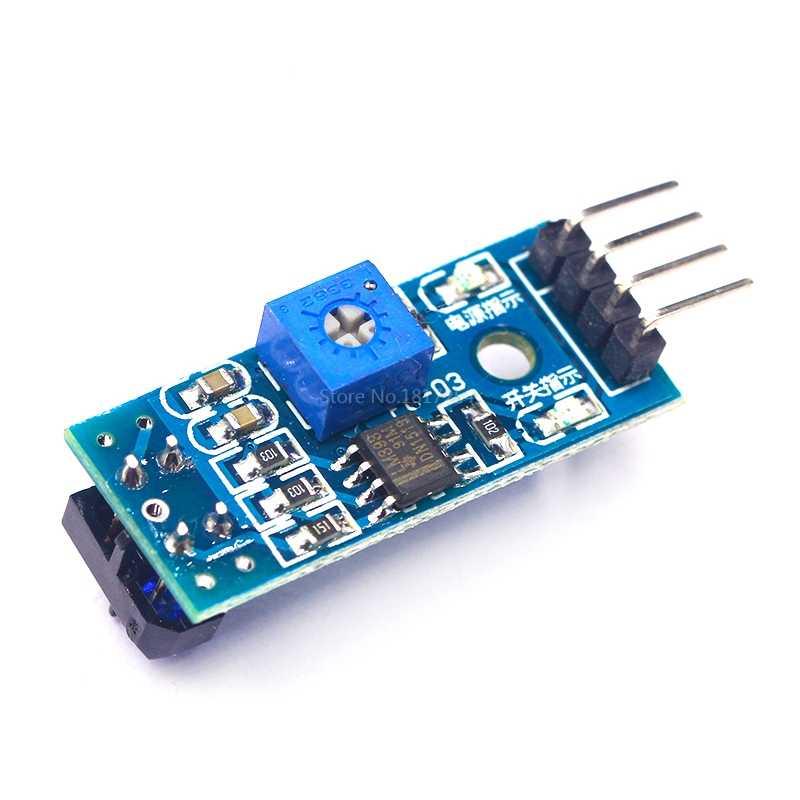TCRT5000 Infrarood Reflecterende Sensor IR Optische Switch Barrier Lijn Track Module Voor Arduino Diode Triode Board 3.3 v-5 v