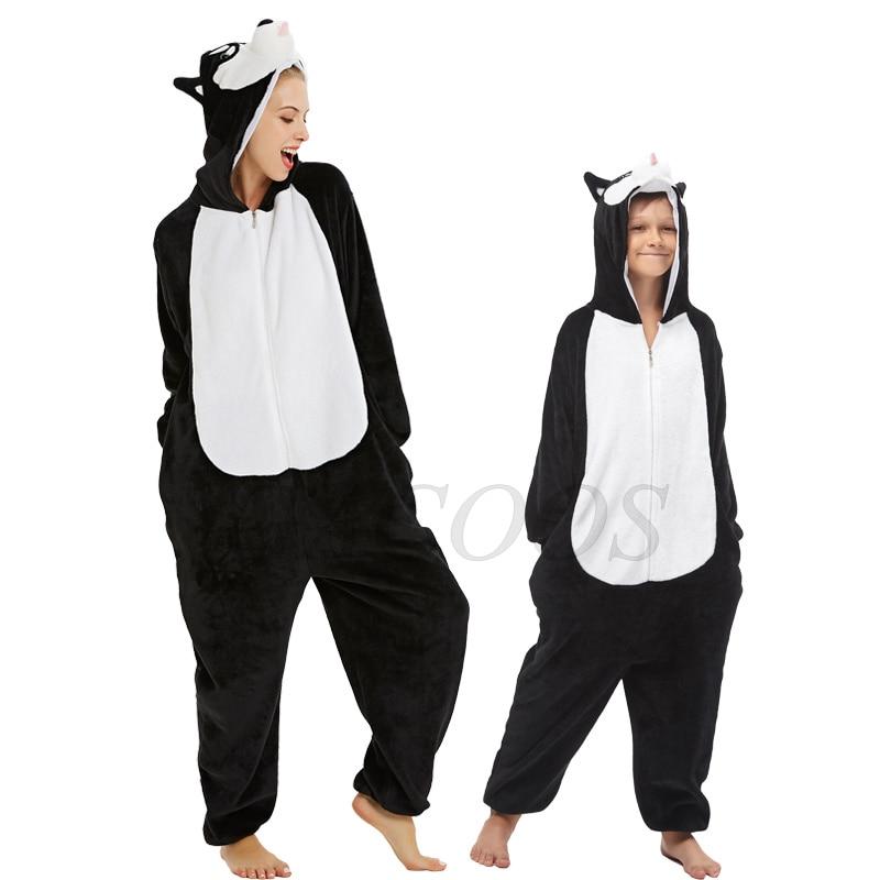 Unicórnio macacão crianças pijamas flanela pijamas para