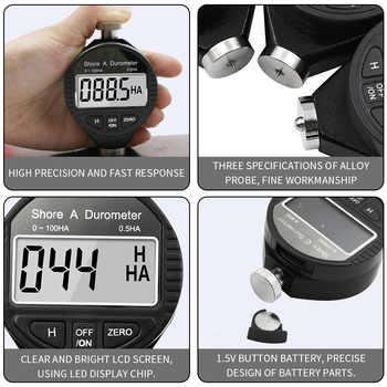 Hardness Tester Meter Digital Durometer Use to Tire Plastic Thermal Plastic