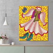 Yayoies Kusamaor Death Of A Doll Wall Art Canvas Poster and Print Canvas Painting Oil Decorative Picture Living Room Home Decor sleeping sexy model wall art canvas poster and print canvas painting decorative picture modern living room home decor framework