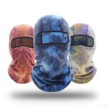 Зимняя Флисовая теплая Балаклава мотоциклетная маска для мотокросса
