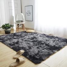 Soft Fluffy Shag Carpet for Living Room Bedroom Machine Washable Indoor Non Slip Rug Home Decor Kids Room Velvet Mat