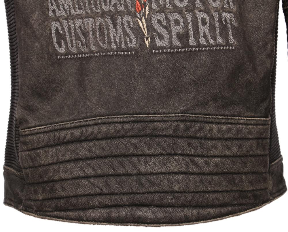 H64b28ae54e6545d09ac22aeebb54961dO Vintage Embroidery Skulls Motorcycle Leather Jacket 100% Real Cowhide Moto Jacket Biker Leather Coat Winter Motor Clothing M220