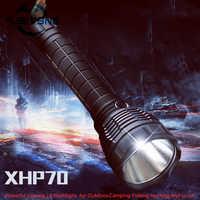 Водонепроницаемый XHP70 светильник для вспышки Convoy L6 светодиодный Внутренний Ночной светильник для кемпинга, рыбалки, охоты, 2*26650 аккумулятор...