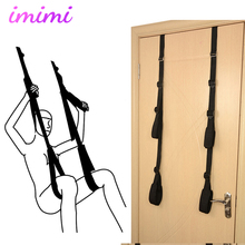 Adult Sex Swing Door Stand Flirting Furniture Fetish Bandage Love Adult Game Chairs Hanging Door Swing Erotic Toys for Couples