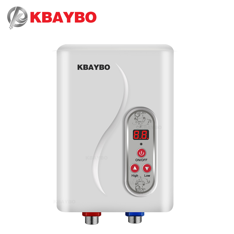 7000W Instant Electric Tankless Water Heater Instantaneous Water Heater Instant Electric Water Heating Fast 3 Seconds Hot Shower