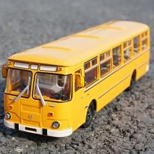 מכירה בוטיק מקורי 1:43 רוסיה 677M אוטובוס סגסוגת דגם, מעודן למות יצוק מתכת רכב דגם, גבוהה אוסף מתנות, יפין חינם
