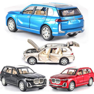 1:24 BMW X7 Car Model Alloy Car Die Cast Toy Car Model Pull Back Children's Toy Collectibles Free Shipping
