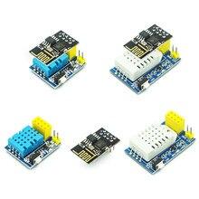 Dht22 sensor am2302 dht11 am2320 digital temperatura e umidade sensor wiles módulo wi fi esp8266 ESP-01 ESP-01S para arduino
