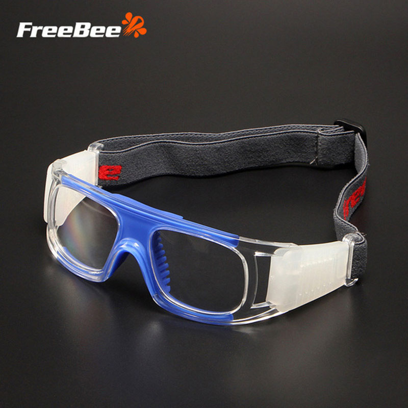 FreeBee Safety Goggles Protective Glasses Anti-Impact Anti-shock Sport Basketball Football Eyewear Breathable PC Lens Goggles