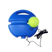 Heavy Duty Tennis Training Tool Exercise Ball Sport Self-study Rebound With Trainer Baseboard Sparring Device
