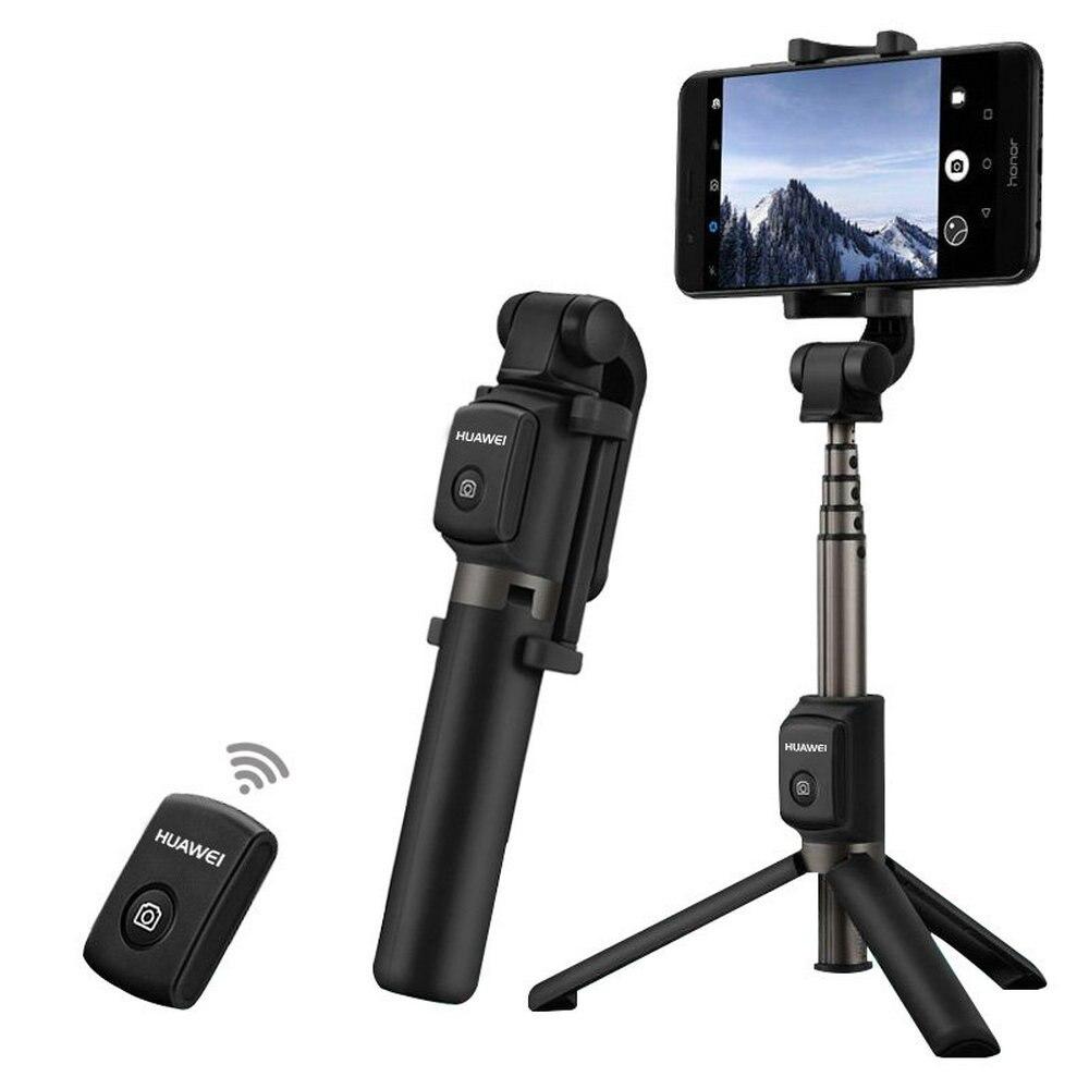 Беспроводной дорожный штатив HUAWEI AF15 с Bluetooth, селфи-палка, портативный штатив с управлением, ручной монопод для телефонов iOS, Huawei, Xiaomi