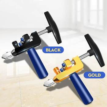 8PCS Professional Easy Glide Glass Tile Cutter 2 In 1 Ceramic Tile Glass Cutting Tool Portable Construction Cutter Tool DropShip