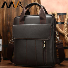 MVA Genuine Leather Men's Bag Shoulder Bag For Men Messenger Bag Man Male Crossbody Bag Small Flap Bags Leather sacoche homme(China)