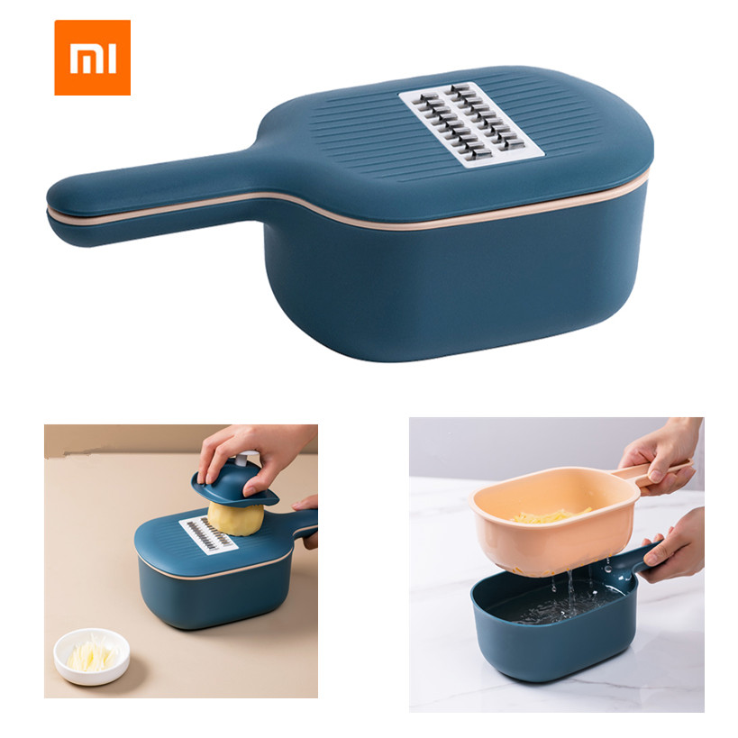 Jordan & Judy Multi-functional Vegetable Cutter Manual Slicer Potato Grater Carrots With Food Storage Box For Kitchen Accessorie