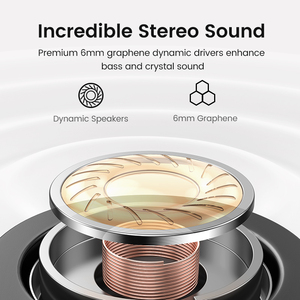 Image 4 - UGREEN HiTune T1 Wireless Earbuds with 4 Mics TWS Bluetooth 5.0 Earphones True Wireless Stereo 24H Playing USB C Charge Earphoe