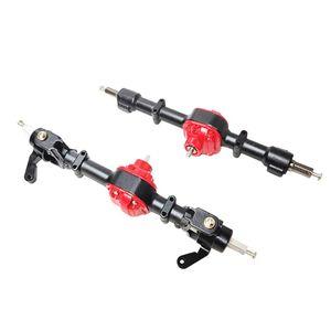 Image 4 - Toptan fiyat yeni MN modeli 1:12 D90 D91 4x4 ön arka RC araba yedek parçaları yükseltme Metal aks konut değiştirme aksesuarları