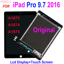 Original LCD for iPad Pro 9.7 2016 A1673 A1674 A1675 LCD Display Touch Screen Digitizer Assembly iPad 7 iPad Pro 9.7