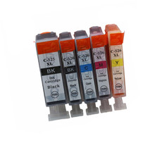 PGI525 PGI 525 XL CLI-526 PGI-525 PGI-525XL Ink Cartridges For Pixma MG-5150 MG-5250 MG-5350 MG-6150 Inkjet Printer