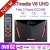 新しいgtmedia V8 uhd dvb S2 衛星放送受信機内蔵無線lanのサポートyoutubeで 3 年ヨーロッパcccamより良いV8 POR2 freesat V8 uhd