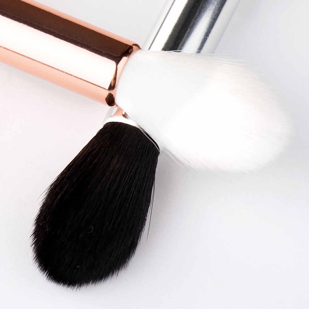 Pincel de blush de chama f35 1 peça, pincel para blush, mistura perfeita e profissional, para rosto, cosméticos, ferramentas de maquiagem de beleza